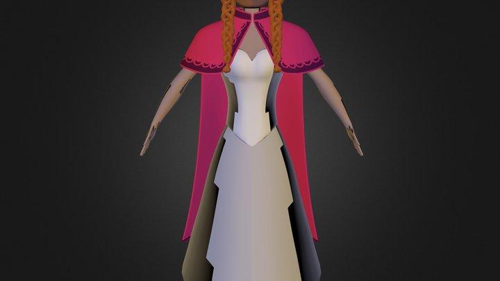 modelado Anna 3D Model
