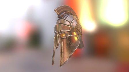 Greek Helmet Plus 3D Model