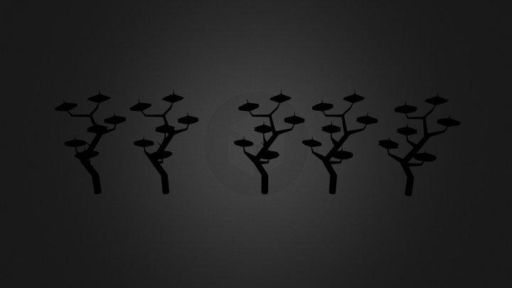 trees2 3D Model