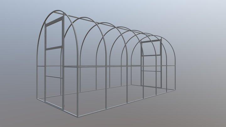 29 разборная 2 м (шаг 650) 3D Model