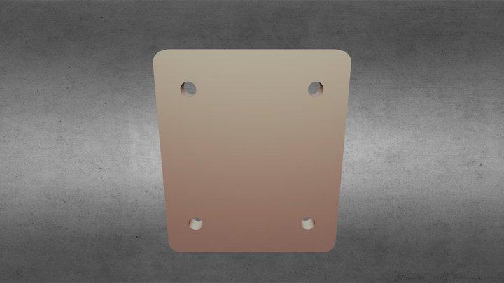 CAL03 Support Miroir 3D Model