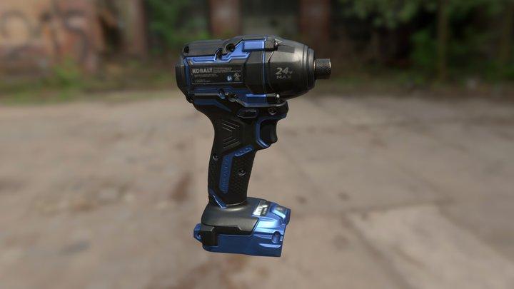 Kobalt XTR Impact Driver 3D Model