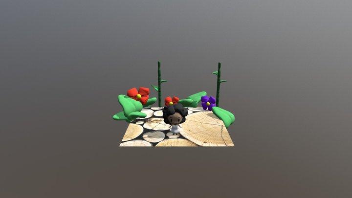 Personaje Lu 3D Model