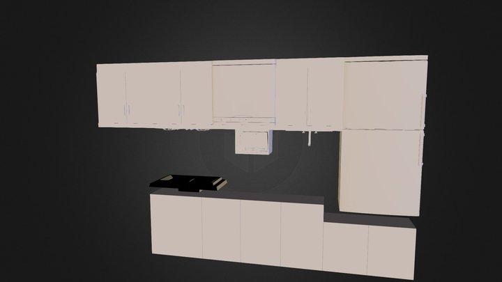 橱柜 3D Model
