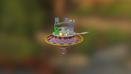 Island - LowPoly_model_01 (7) 3D Model