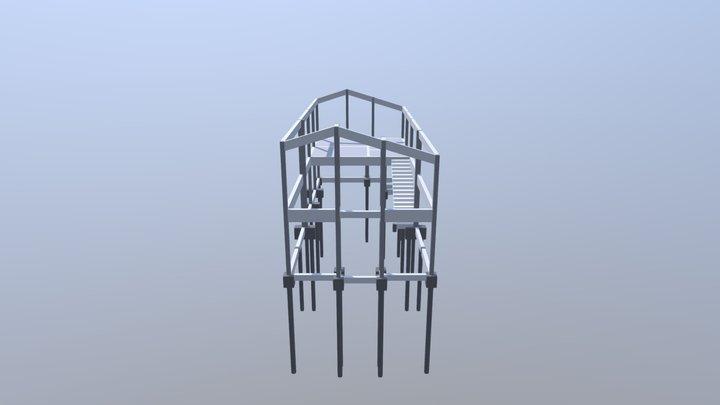 Estrutura 3D - C.E.L.R. - São Roque/SP 3D Model