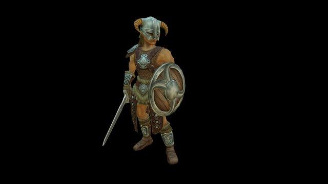 Dragonborn 3D Model