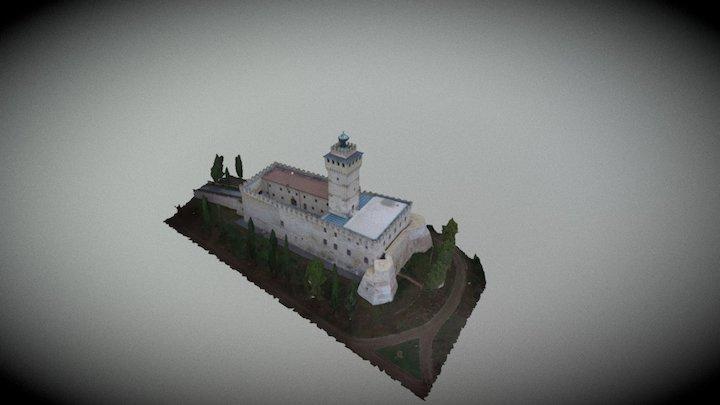 Rocca Delle Caminate Full HD 3D Model