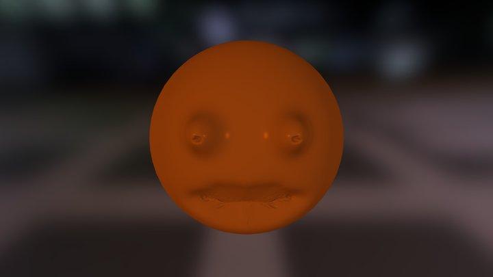 The Annoying Orange 3D Model