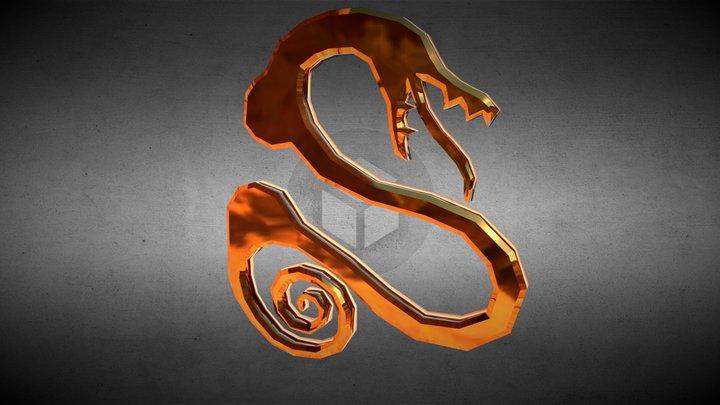 La serpiente de la envidia - Diane (Symbol) 3D Model