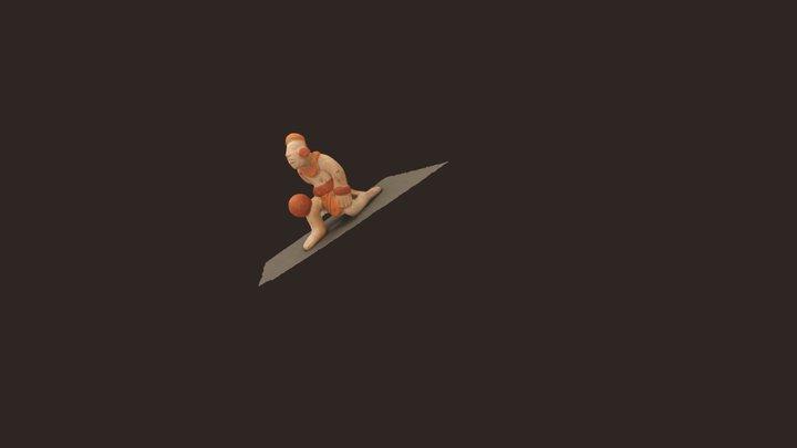 Ballplayer 3D Model