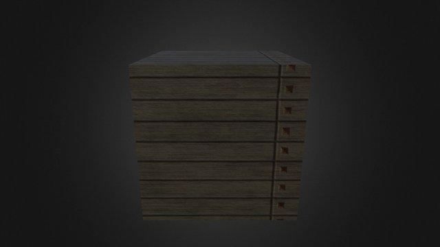 Cube 01 3D Model