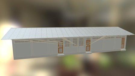 Ethiopie School 3D Model