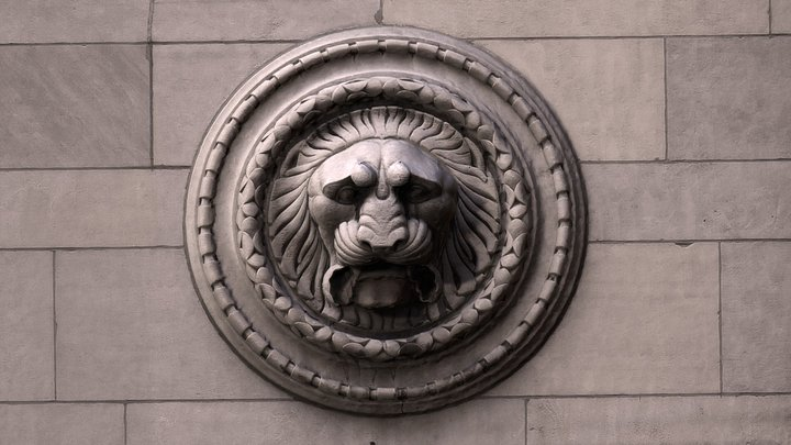 Lion Head 1, CIBC headquarters, Toronto 3D Model