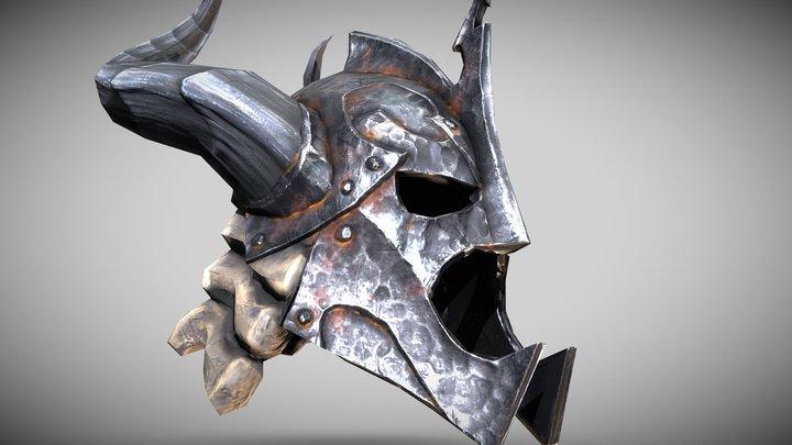 Skyrim - The Dragonbone Helm 3D Model