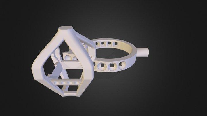 131021 Bruno BG pierre carrée 3D Model