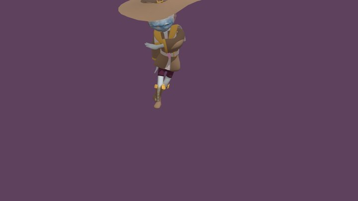 Hip Hop Dancing(abcdefg) 3D Model
