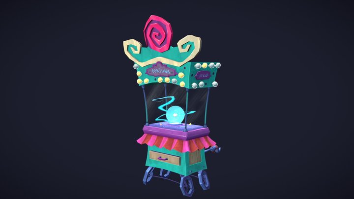 Fortune Teller's Cupboard 3D Model