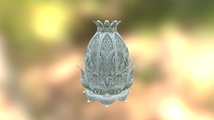 Lotus Lamp 3D Model