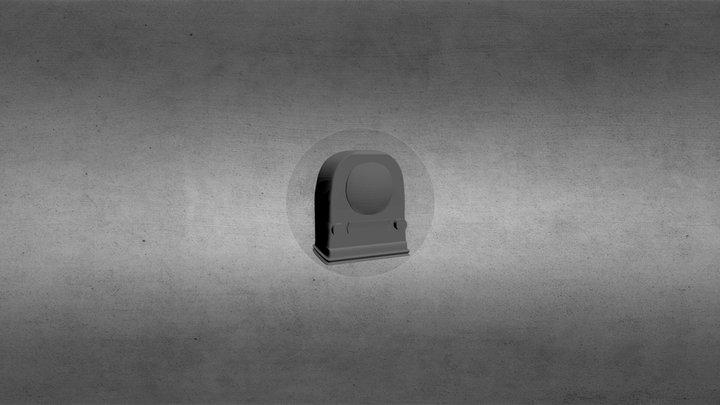 Clockradio 3D Model