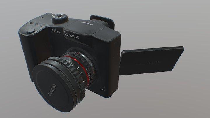 Camera (low-poly) 3D Model