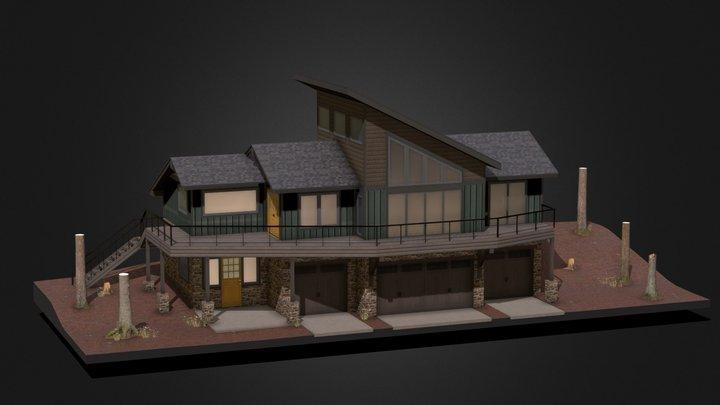 Robinson Site 3 - Vertical Board 3D Model