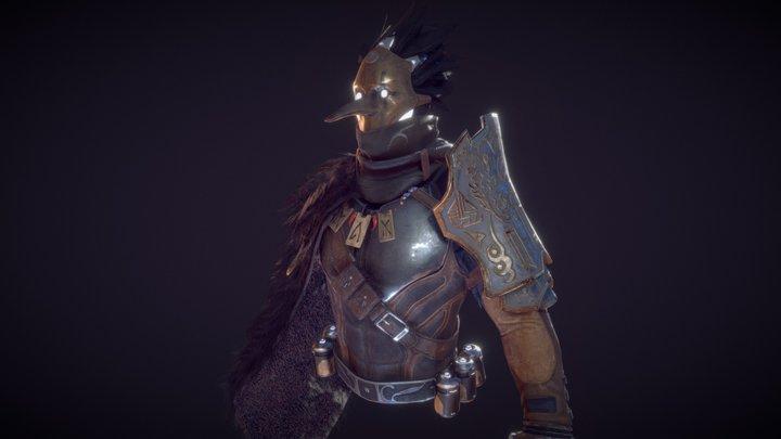 Character Test 3D Model