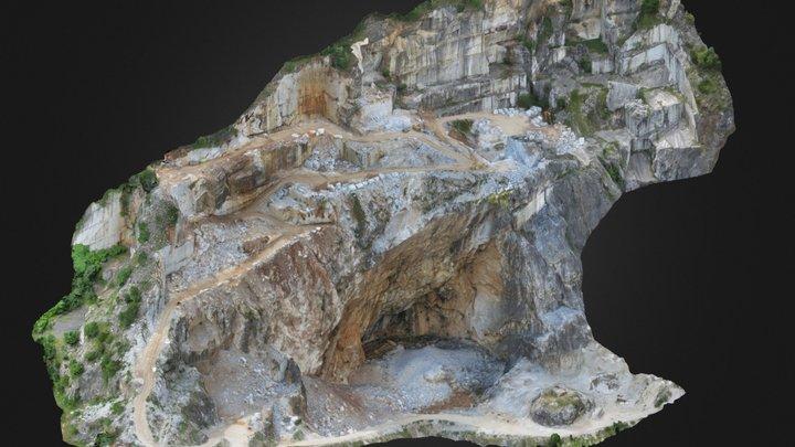 Cava di marmo Apuano / Apuan Marble Quarry 3D Model