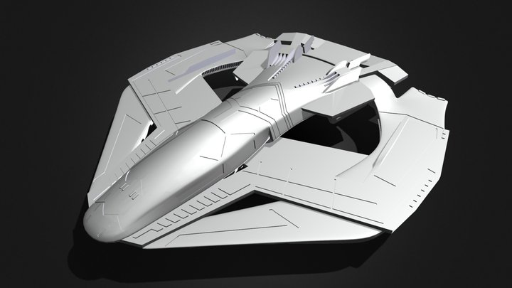 Talon Fighter 3D Model