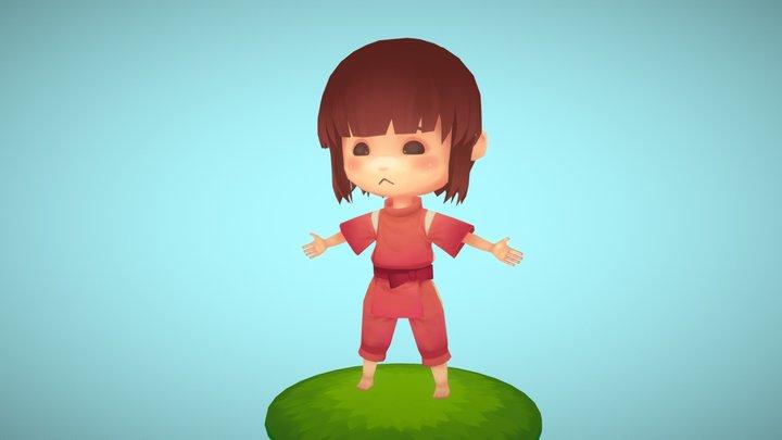 Spirited Away Sen/Chihiro 3D Model