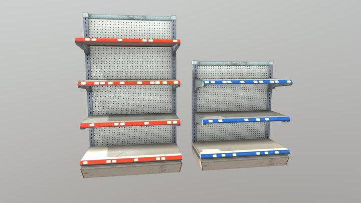 Modular Shelves 3D Model