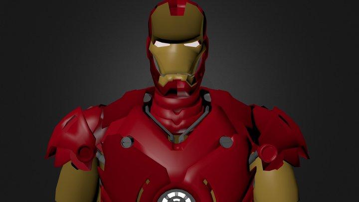 ironman.blend 3D Model