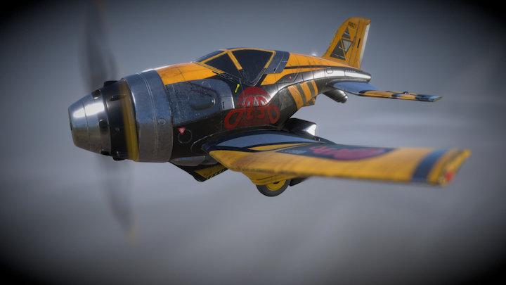 plane racing 3D Model