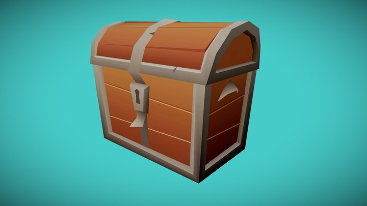 Lowpoly test-chest 3D Model