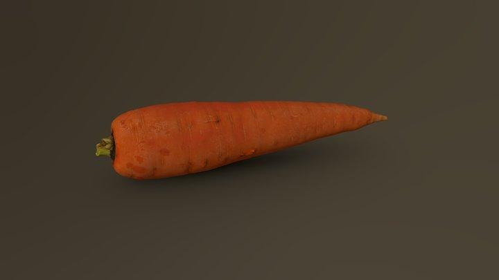 Carrot 11 3D Model