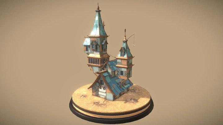 Mansion (imaginary) 3D Model