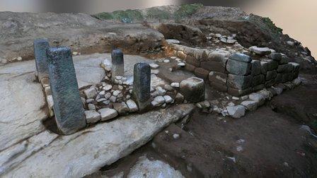 Archaeological site 3D Model