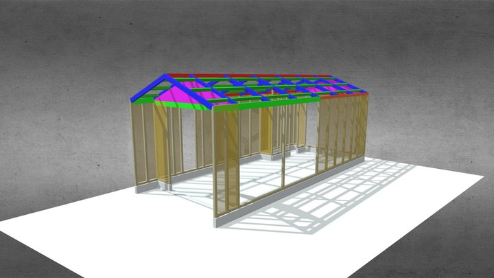 2020w ガレージ(滋賀)ASAAD 3D Model