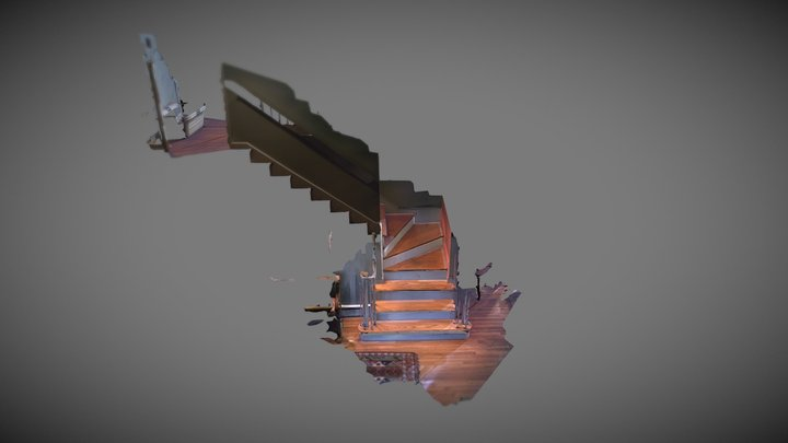 DotProduct Stairs converted with Pointfuse 3D Model