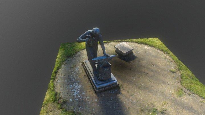 De Dorpsmid in Gieten 3D Model