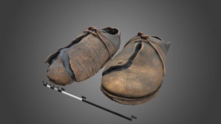 187 - Schoenen (early 16th century shoes) 3D Model