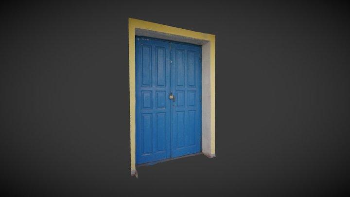 RAW 3d photo scanned door 3D Model