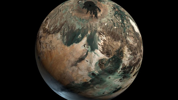 Planet Trask 3D Model