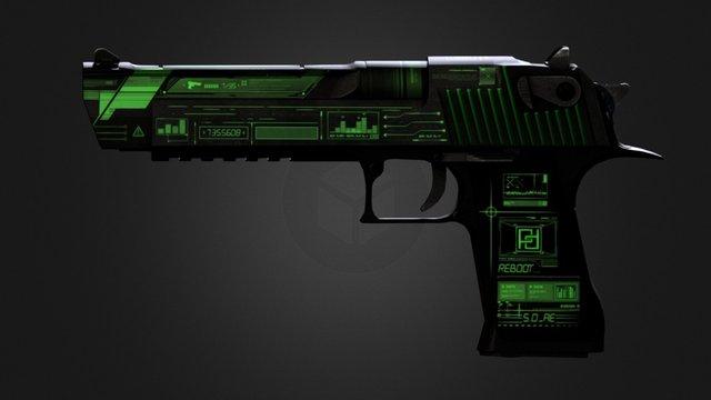 Reboot_Green 3D Model