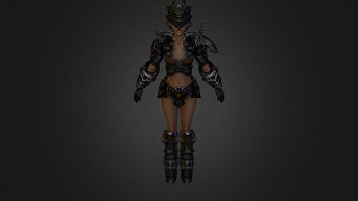 Turan Female R1001 Eye 3D Model
