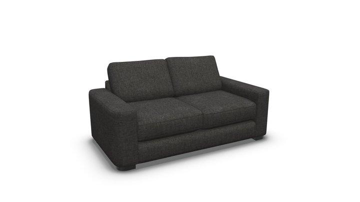 Coste Sofa Bed, Cygnet Grey 3D Model