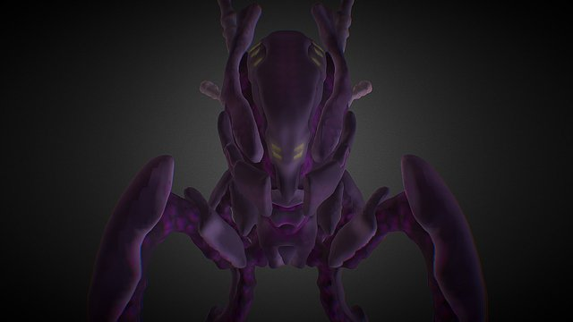 Zha´Kroth, the mind of the Void 3D Model