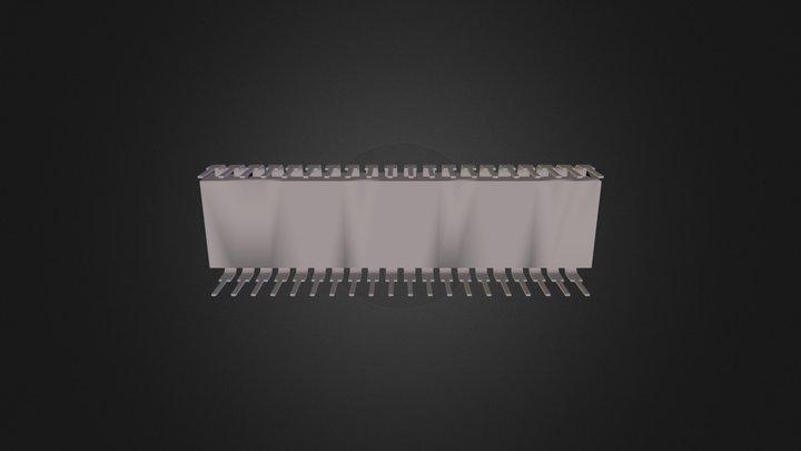 микросхема 3D Model