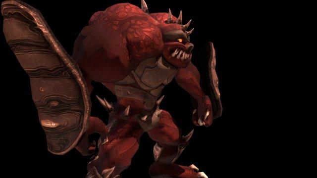 Golem Freak (Animated) 3D Model