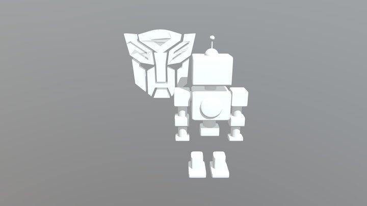 Logo Og Robot 3D Model